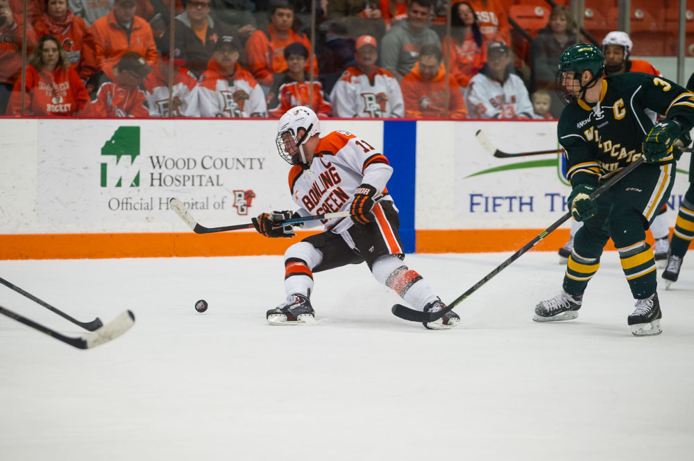 Freshmen contribute to sweep of NMU
