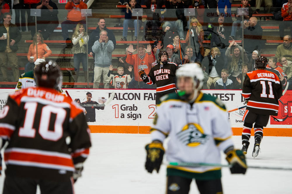Twice is Nice: Falcon offense dominates again in 6-2 sweep of UAA