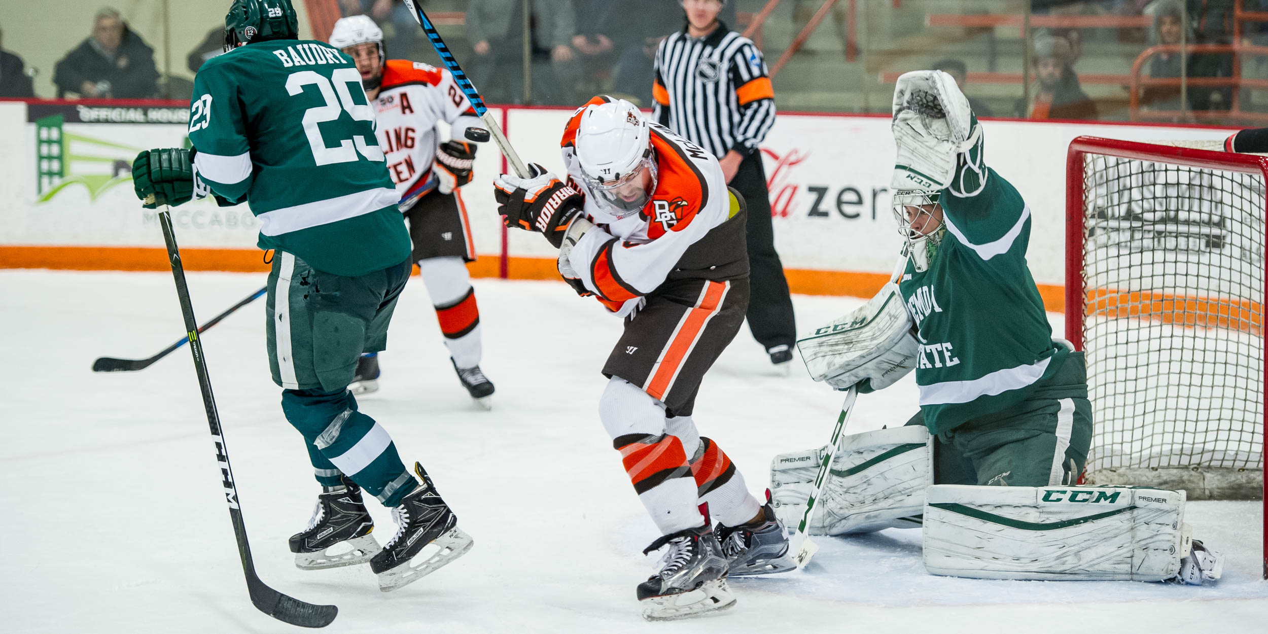 Beavers hold off Falcons 2-1