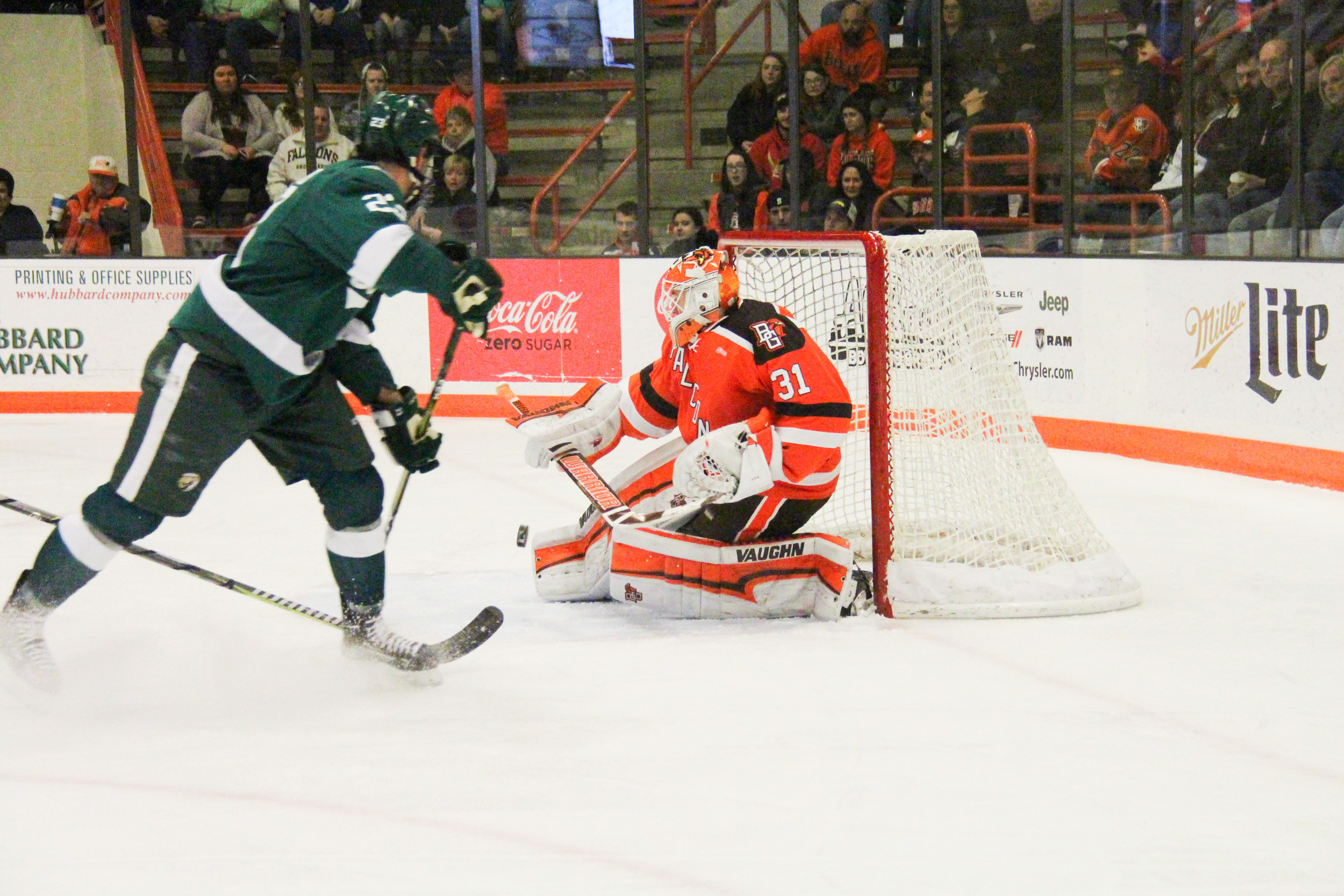 Coffman's late marker gives Falcons 3-1 win over Beavers